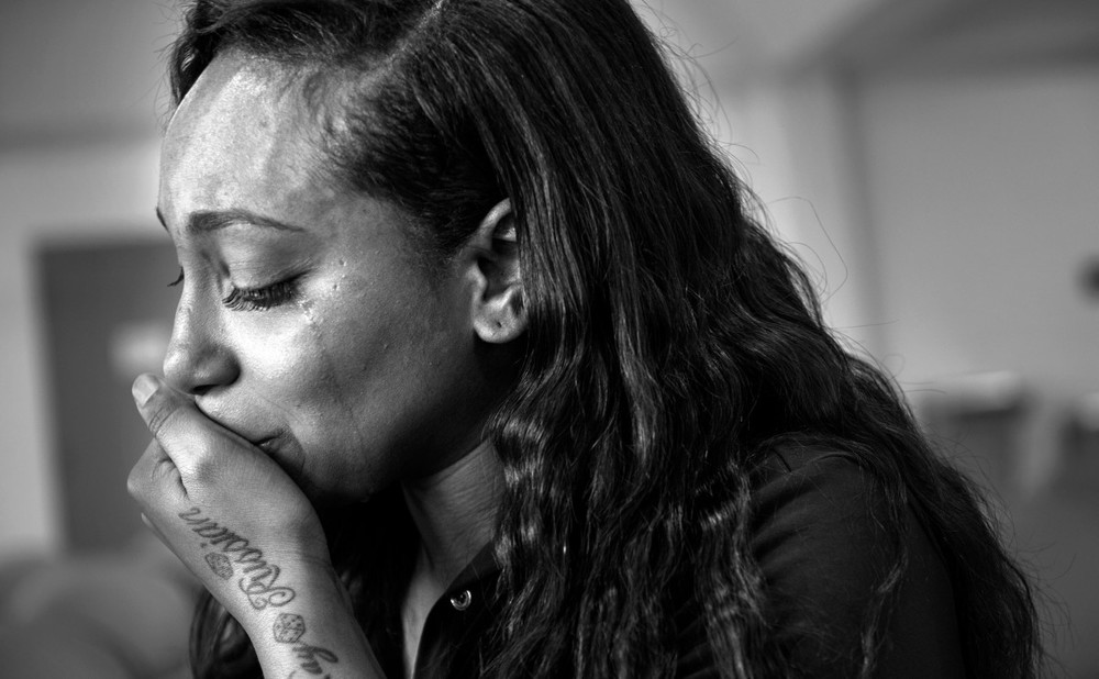 ''She's the light of my life,'' Clenesha Garland said during a recent visit with her mother at Carswell federal prison. ''She's such a good person, and she's stuck in this place where she doesn't belong.''