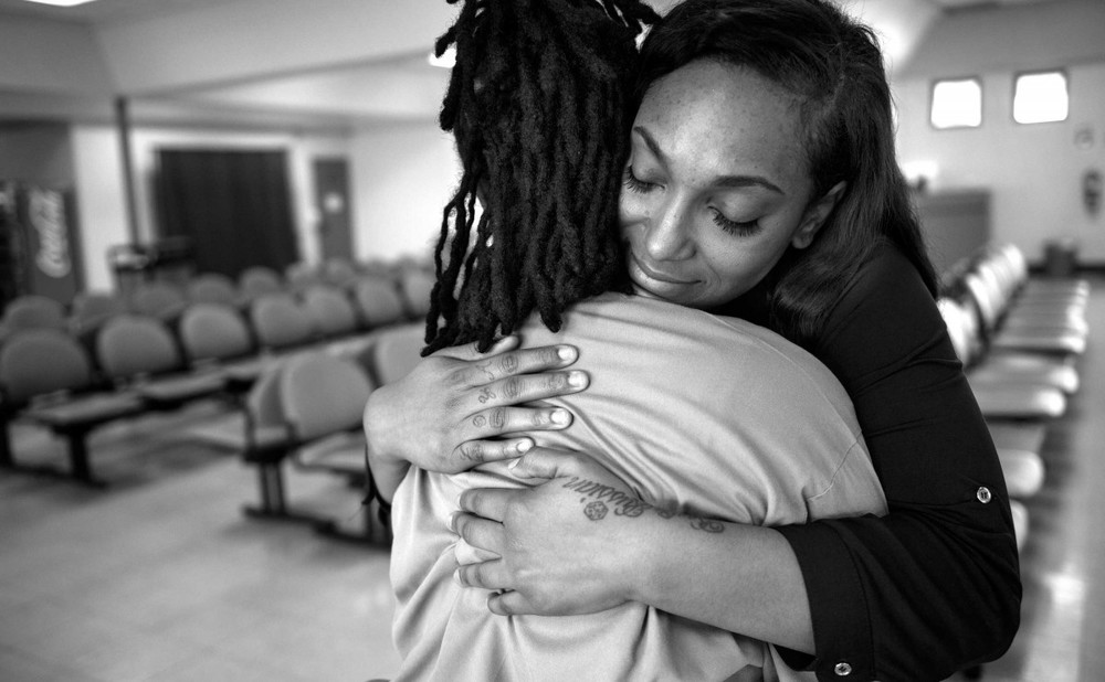 ''I've been going through this for so long,'' Clenesha Garland said of her mother's imprisonment. ''It's like a pain you can't explain.''