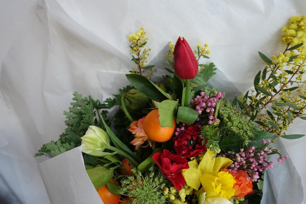 Seasonal Bright Bouquet — Flōs. Botanical Studio