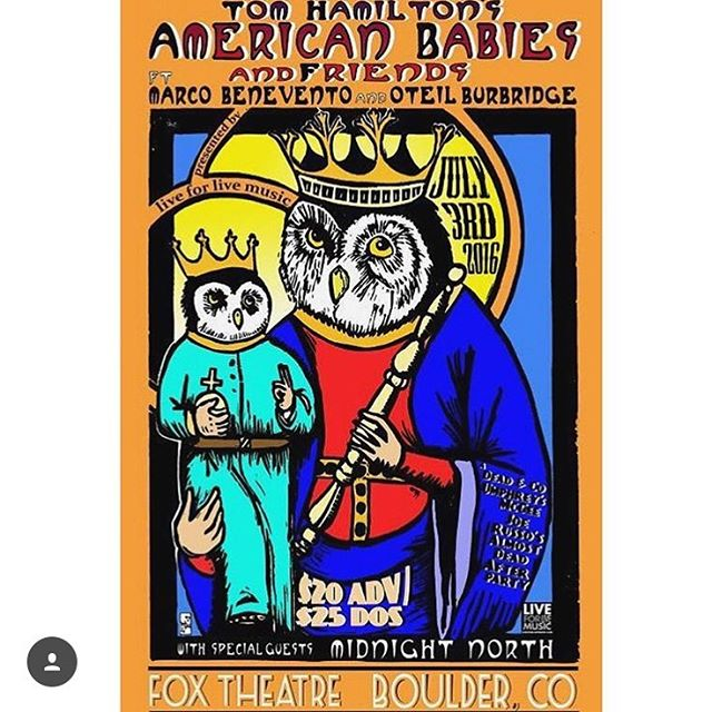Tonight tonight!!!! SOLD.OUT. #americanbabies #anepicbattlebetweenlightanddark  #boulderrocks