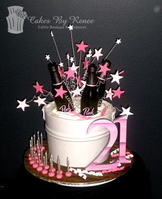 Drinks Ice Bucket 21st Birthday Cake Beer Tub Champagne Wine
