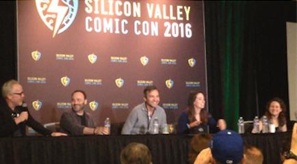 Big Bang Theory writers with Adam Savage moderating