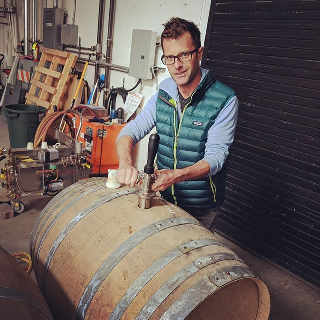HBD to this guy 🎉 Running a small business is not for the weak. Good thing he is at the helm. We are doing a family day at the tasting room with 🎈 in tow. 🍾 #familybusiness #lovewhatyoudo #worklife #smallbusiness #shopsmall #shoplocal #drinklocal