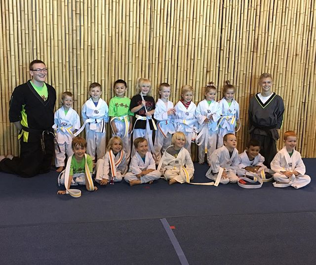 Congrats to our lil' Ninjas class! They rocked it at their belt test!!!