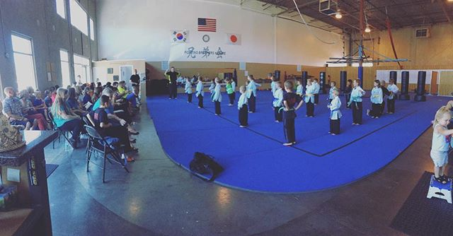 Awesome job Samurai Warriors!!! #belttest #samuraiwarriors #FBK #wearefbk
