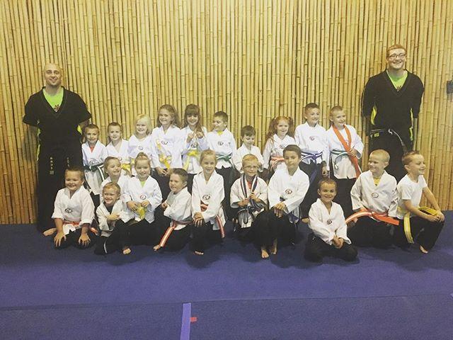 Great job Samurai Warriors!!! Your belt test was sweet! #samurais #fightingbrothers #karate