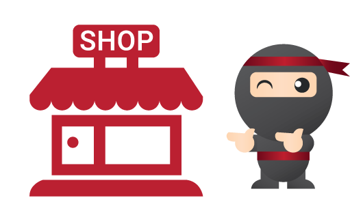 Ninja Point   Ninja Points are our partner retail shops located at areas with high footfall. You can collect your parcel by providing the store attendant with a verification code, which will be sent to you via email and SMS once your parcel has arrived at the Ninja Point.