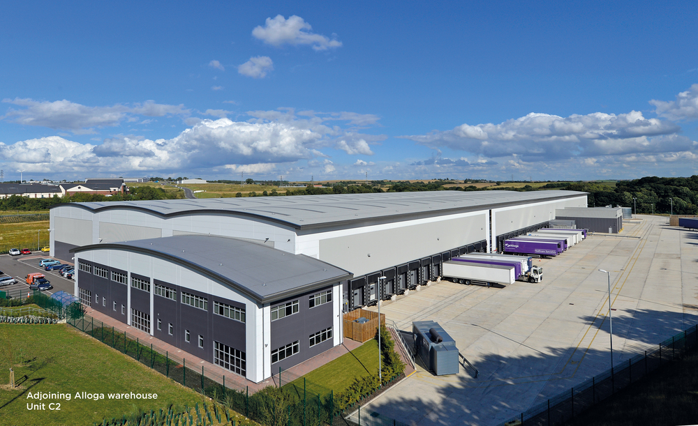 INDUSTRIAL - DEVELOPMENT - SALE    Alloga (UK) Ltd - Pre Let Forward Funding    220,000 sq ft warehouse at Castlewood Business Park   Client -  Clowes Developments   Purchaser -  Aberdeen Asset Management   Price  - £18.21m - 5.56% NIY