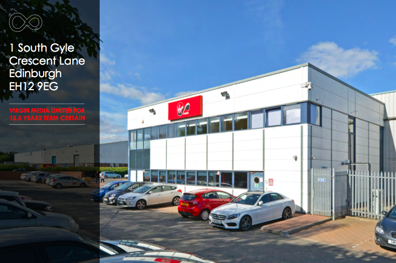 INDUSTRIAL - INVESTMENT - ACQUISITION    Virgin Media - Telecom Facility   25 year unexpired lease    Client:  Private Investor   Vendor:  CBRE Global Investors   Price:  £2.95m