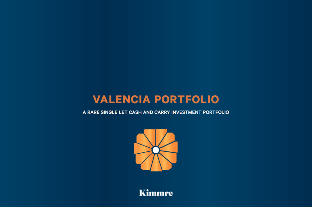 PORTFOLIO - INVESTMENT - SALE    Valencia Portfolio - UK wide   A portfolio of 6 Booker Cash & Carries located across the UK   Client -  UK Fund   Purchaser -  Confidential   Price  - Circa £35m