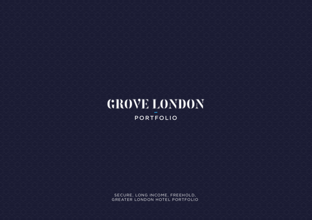 PORTFOLIO - INVESTMENT - ACQUISITION    Grove London Portfolio   4 London Travelodge Hotels   Client:  UK Prop Co   Vendor:  Goldman Sachs   Price:  Confidential