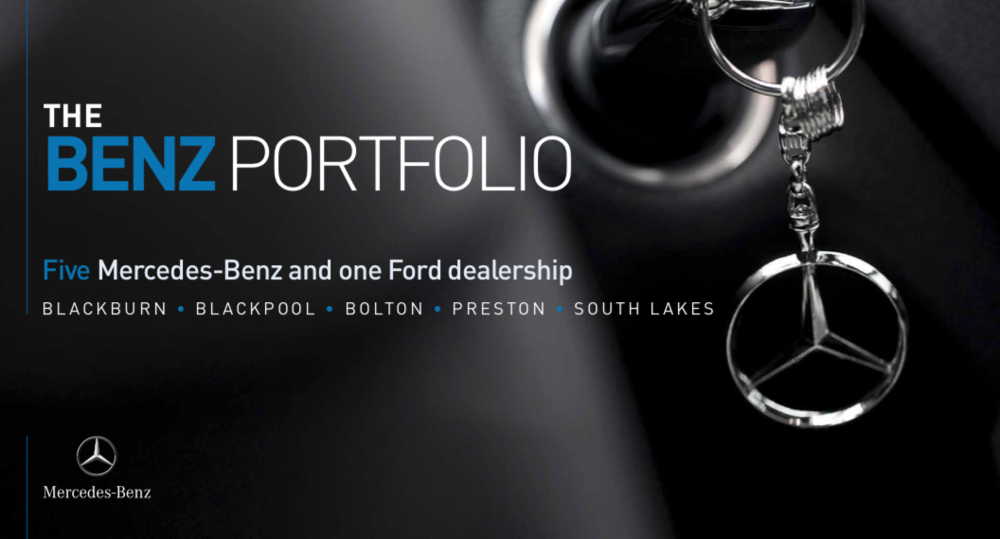 CAR SHOWROOM - INVESTMENT - ACQUISITION    Benz Portfolio   Portfolio of Mercedes Benz Car Show Rooms   Client:  UK Charity   Vendor:  UK Prop Co   Price:  Confidential