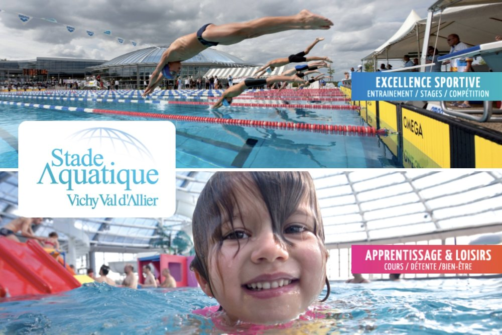 Big swimming pools nearby : in Vichy and Moulins.