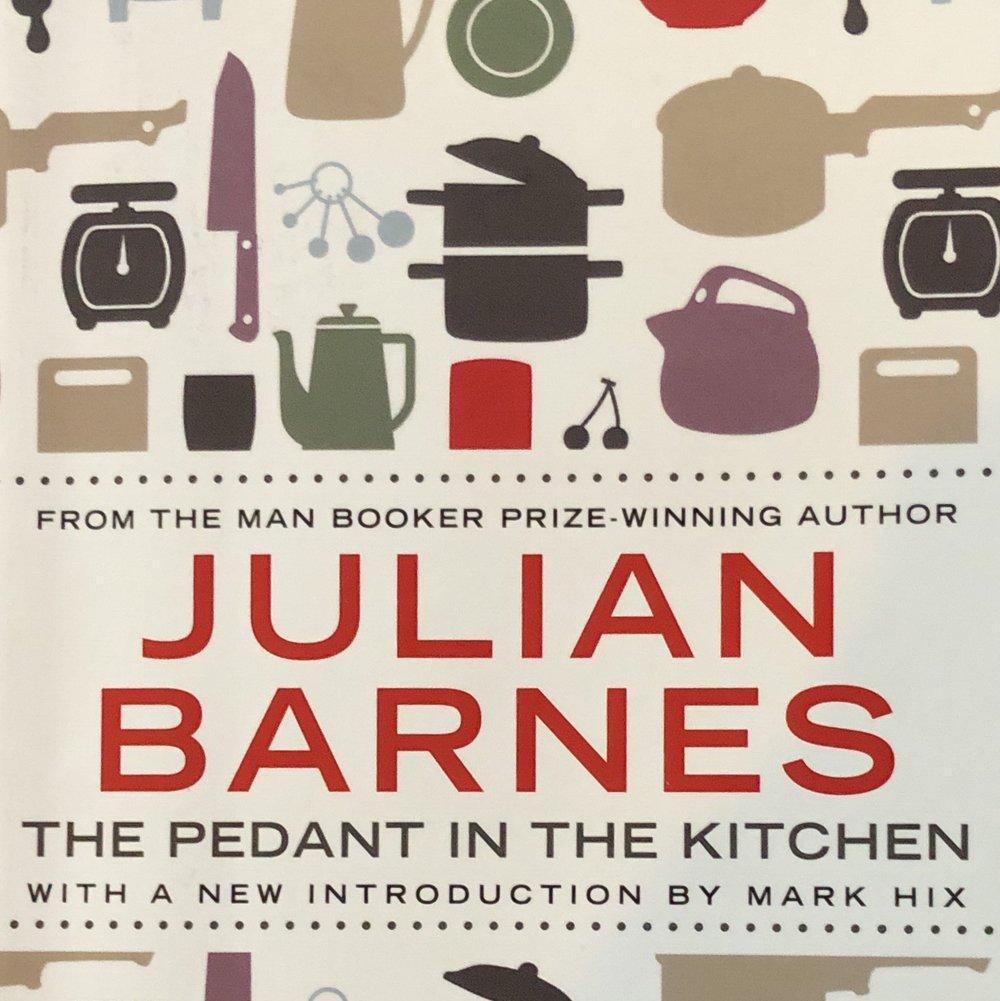 Chirstmas present cook book Julian Barnes