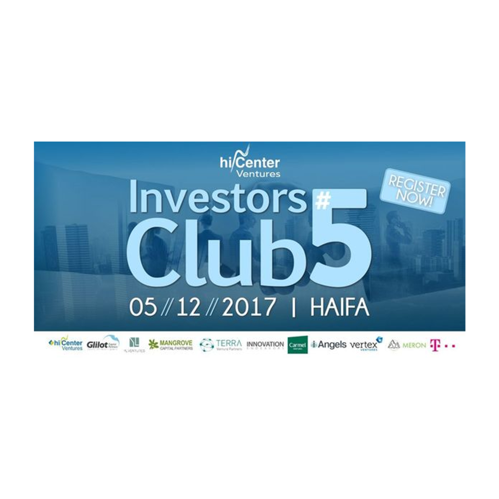 Got free booth at Investors Club 5