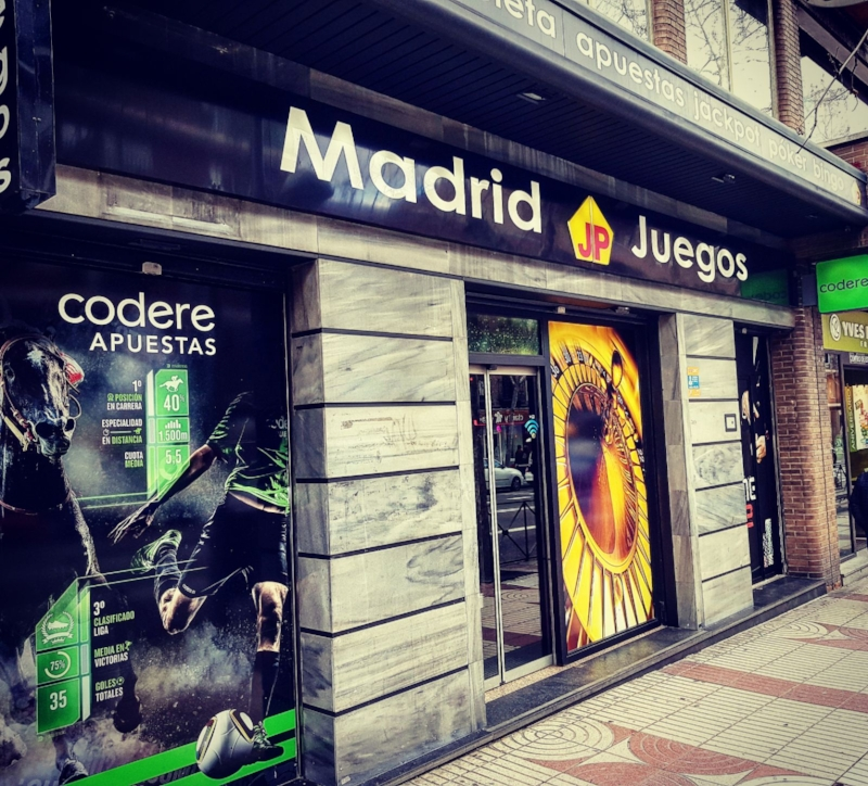 - Madrid JP Juegos AlcaláCalle Alcalá 390