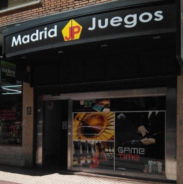 - Madrid JP Juegos QuintanaCalle Virgen del Sagrario 3