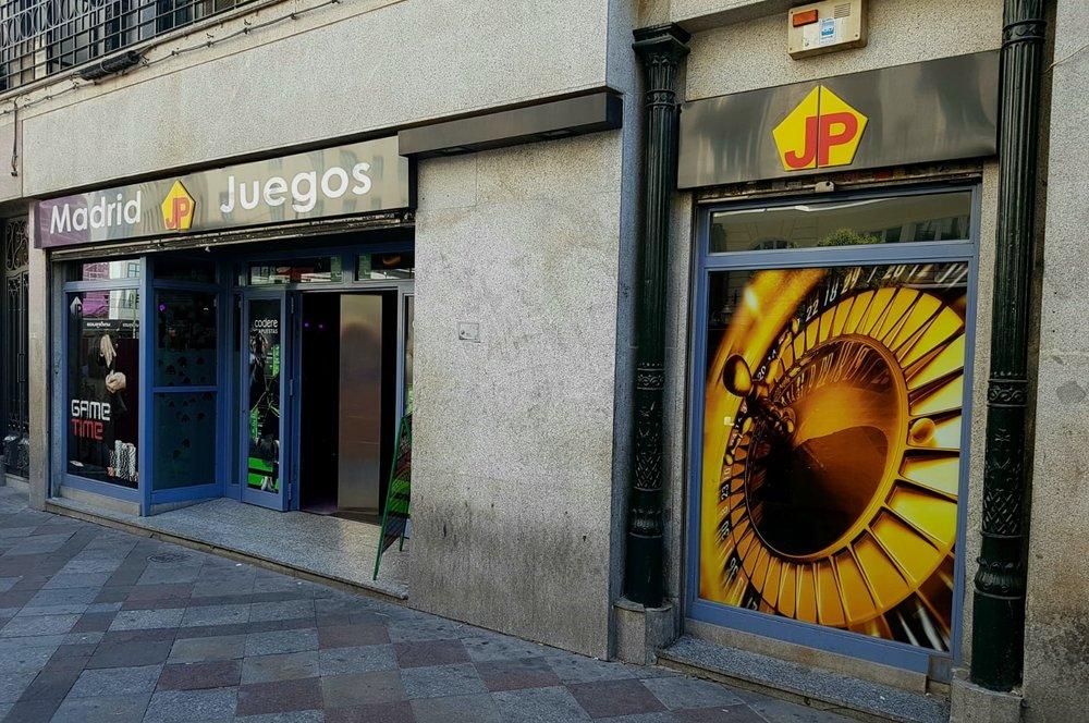 - Madrid JP Juegos Gran VíaCalle Montera 44