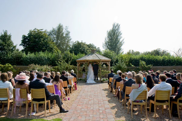 Beth & Sam's wedding ceremony