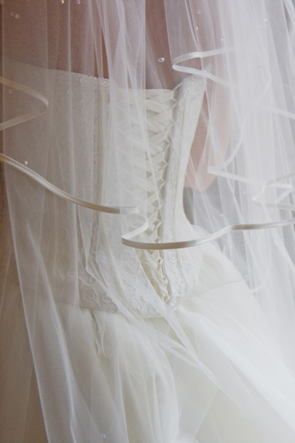 Julie's wedding dress