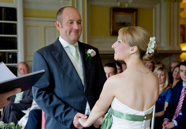 Gillian & Nigel's wedding ceremony