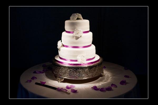 Tracy & Daniel's cake
