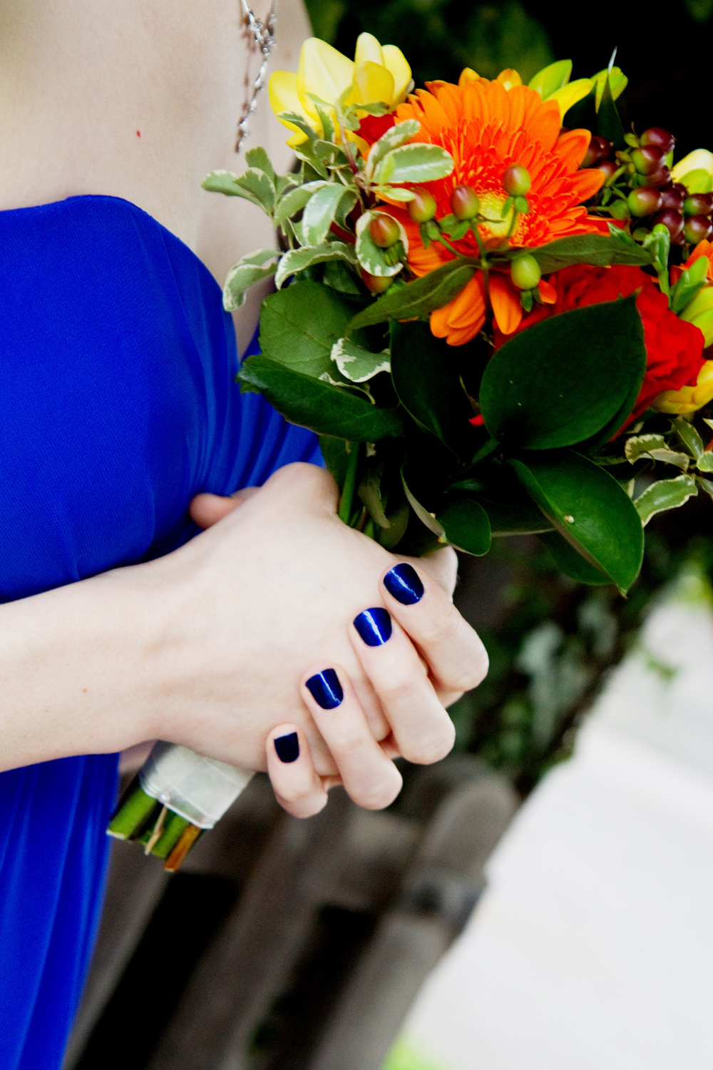 Orange & Blue Wedding Colours, Helen England Photography, Kent, U.K
