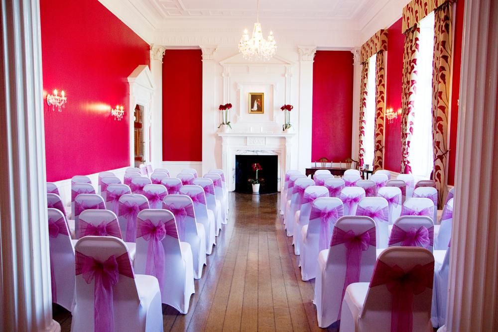 west heath ceremony room