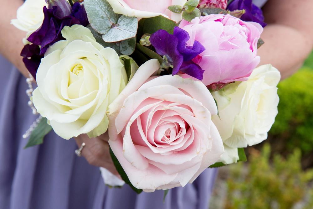 Purples and Pinks Wedding Bouquet, Helen England Photography, Kent, U.K