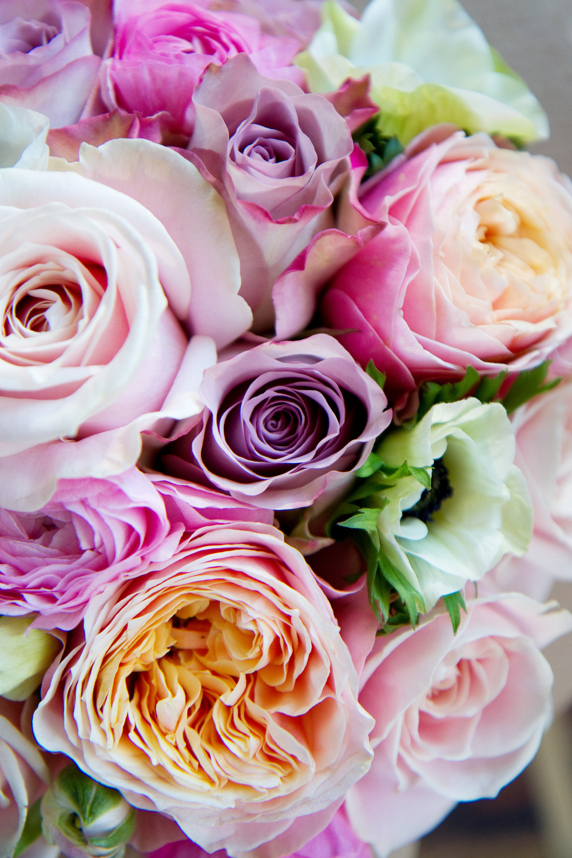 Pastel Shades Wedding Bouquet, Helen England Photography, Kent, U.K