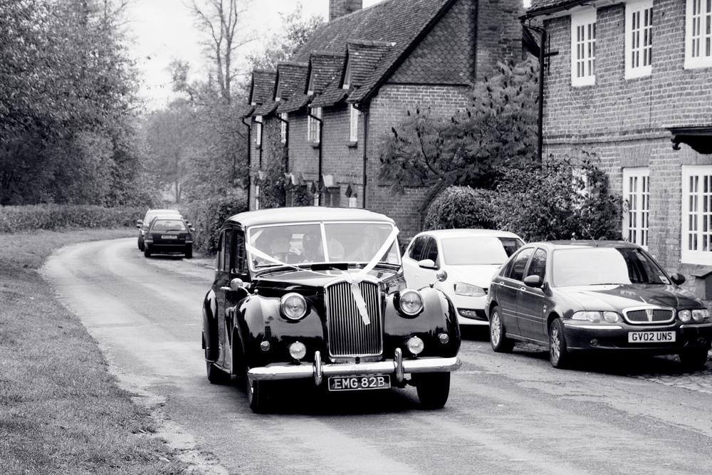 Classic Wedding Car, Helen England Photography, Kent, U.K