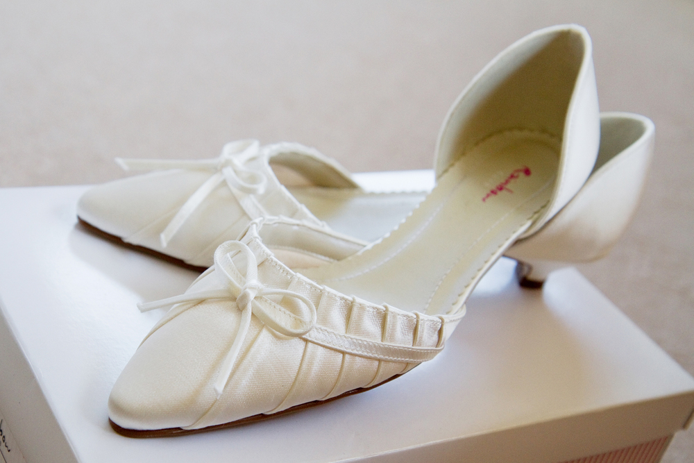 Kitten Heel Wedding Shoes, Helen England Photography, Kent, U.K