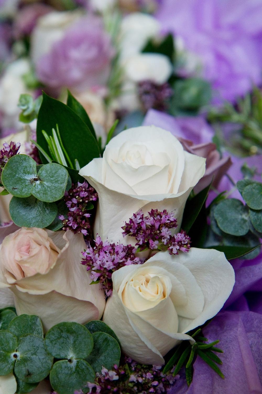 Ivory & Purple Bouquet, Helen England Photography, Kent, U.K