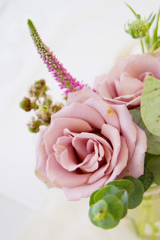 Pink Rose Wedding Centre piece, Helen England Photography, Kent, U.K