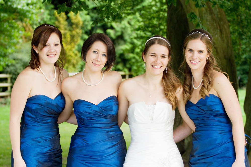 Navy Bridesmaid Dresses, Helen England Photography, Kent, U.K
