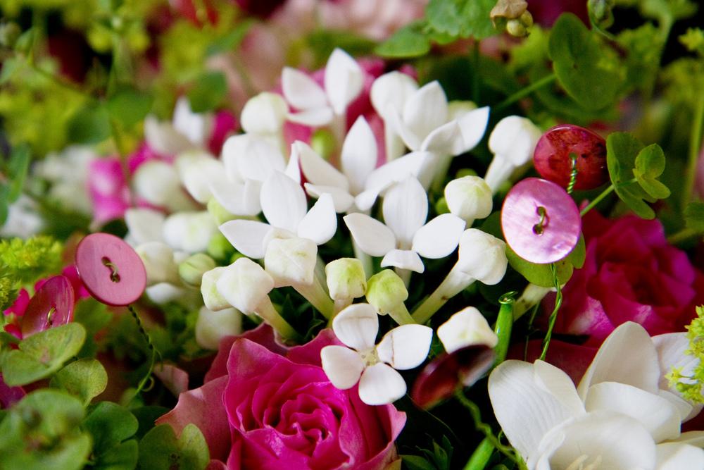 Pink & White Wedding Bouquet, Helen England Photography, Kent, U.K