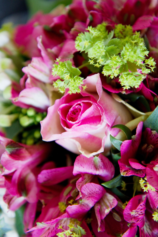 Pink Wedding Bouquet, Helen England Photography, Kent, U.K