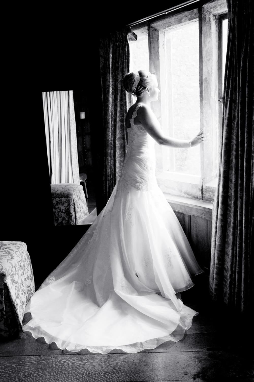 Bride Silhouette, Helen England Photography, Kent, U.K