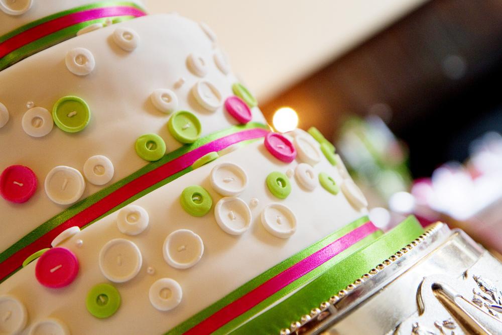 Button Wedding Cake, Helen England Photography, Kent, U.K