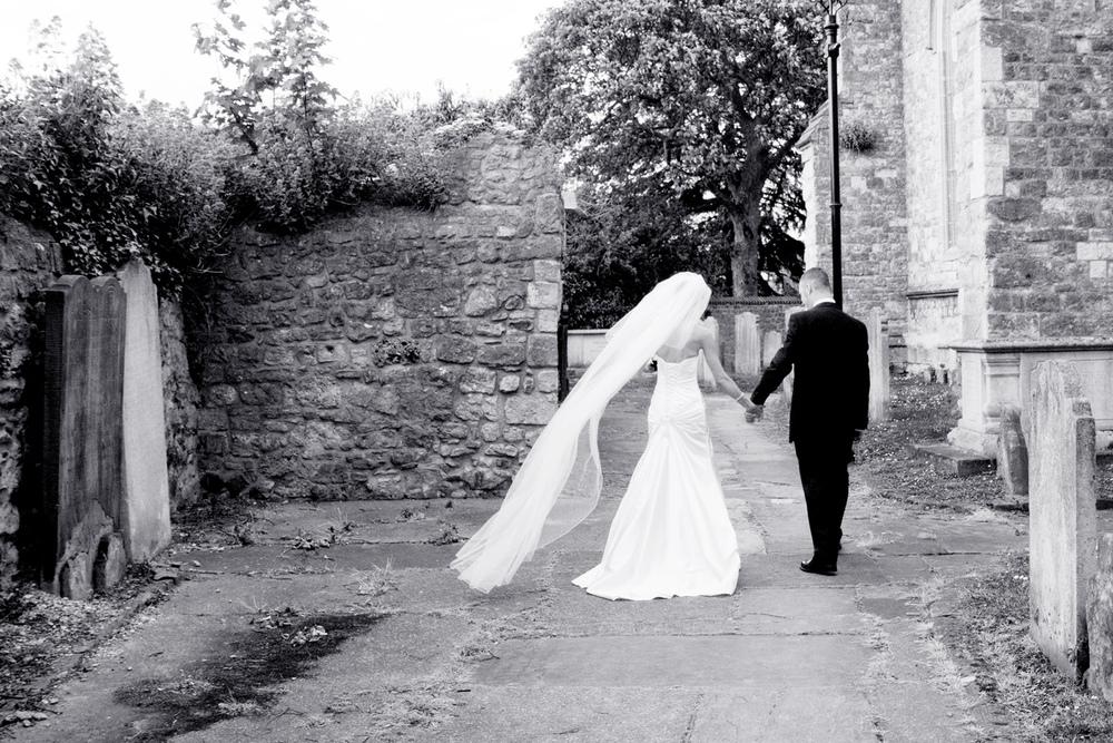 Long Wedding Veil, Helen England Photography, Kent, U.K