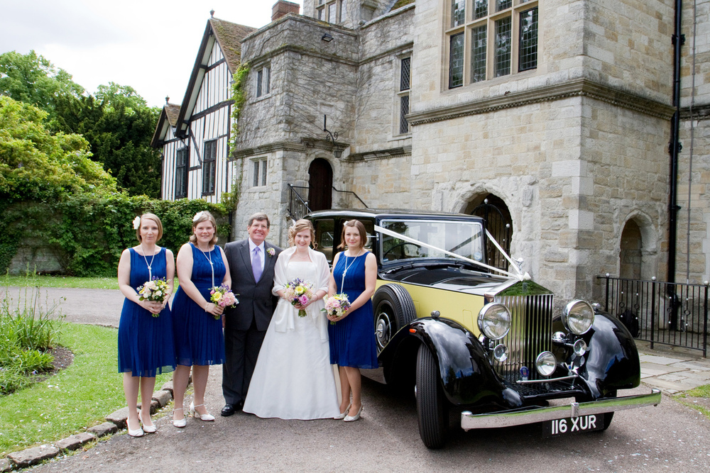 Vintage Wedding Car, Helen England Photography, Kent, U.K