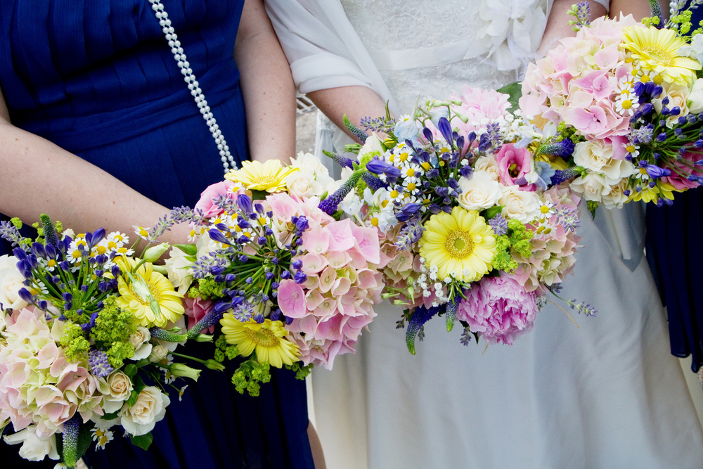 Wild Flower Wedding Bouquet, Helen England Photography, Kent, U.K