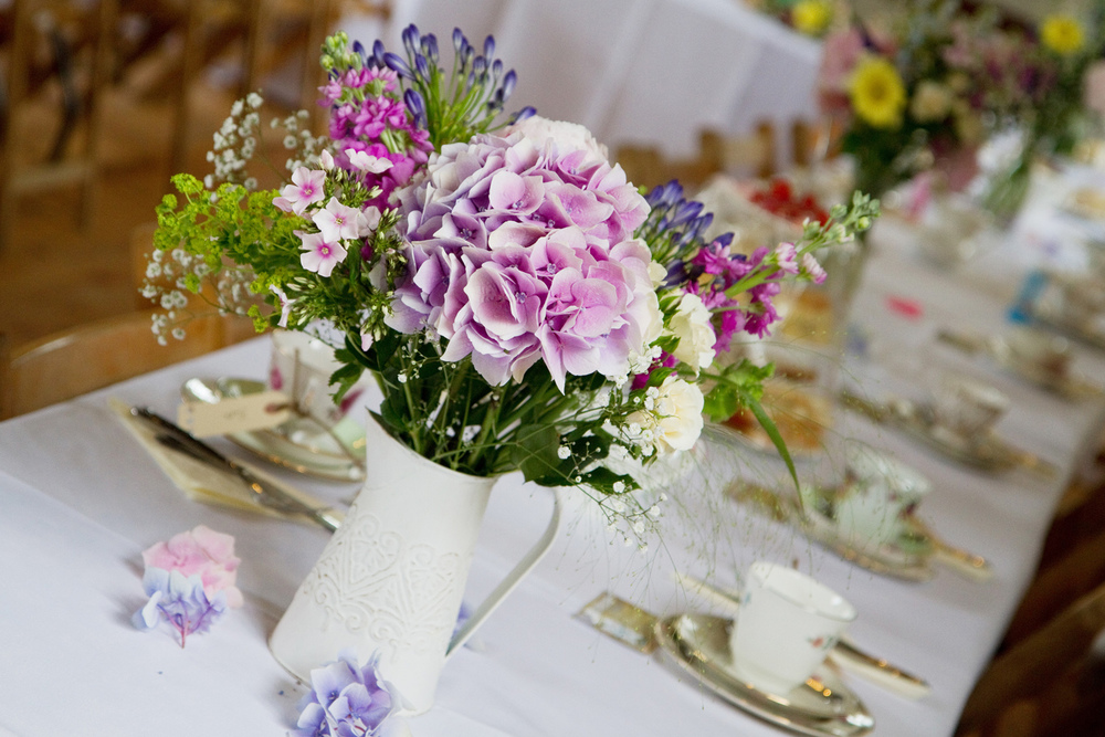 Vintage Wedding Table Decor, Helen England Photography, Kent, U.K