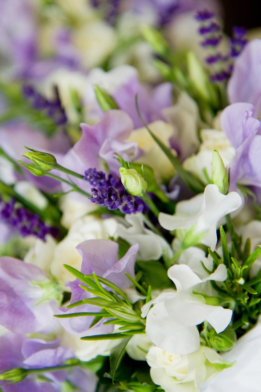 Purple Wedding Flowers, Helen England Photography, Kent, U.K