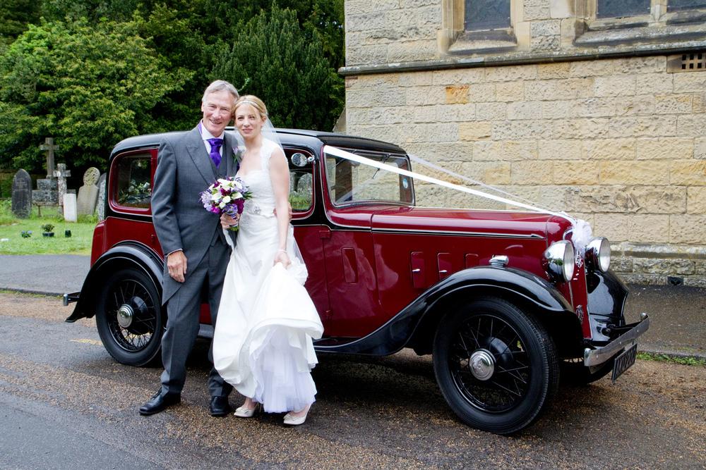 Vintage Wedding Car, Helen England Photography, Kent, U.K