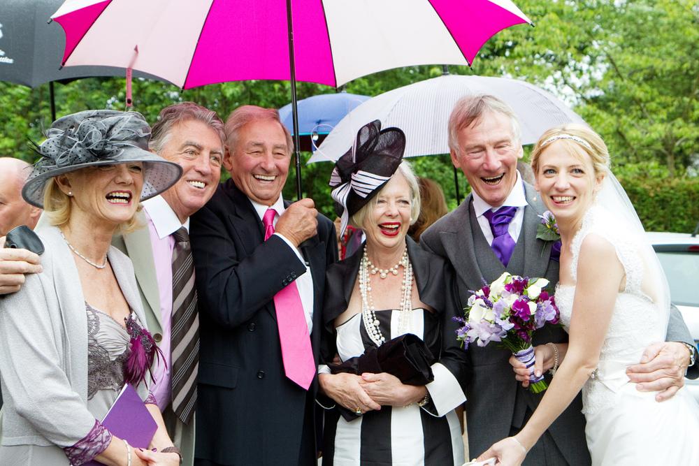Wet Wedding, Helen England Photography, Kent, U.K