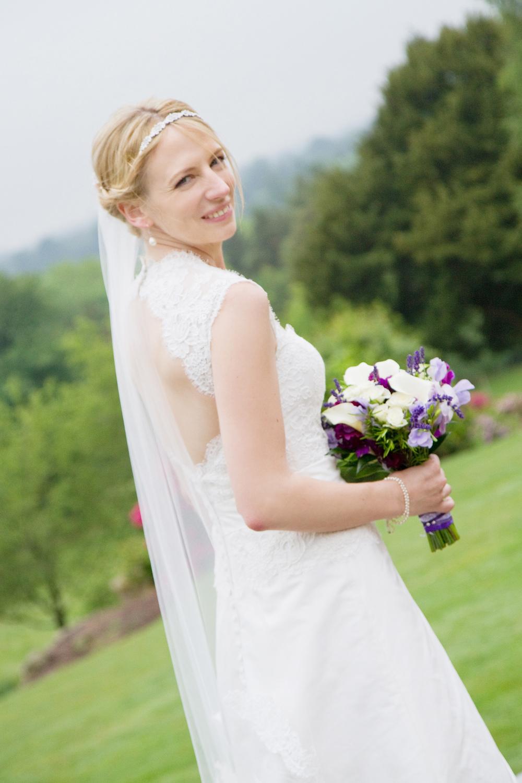 Open Back Wedding Dress, Helen England Photography, Kent, U.K
