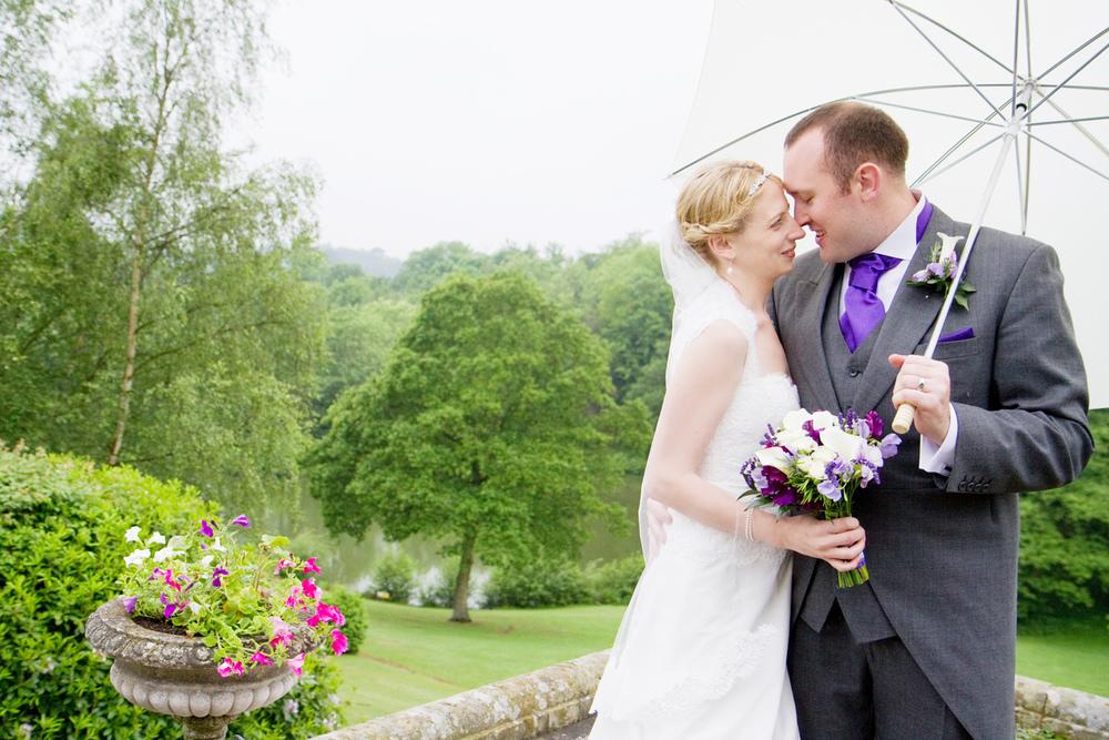 Wet Wedding, Salomons Wedding Venue, Helen England Photography, Kent, U.K