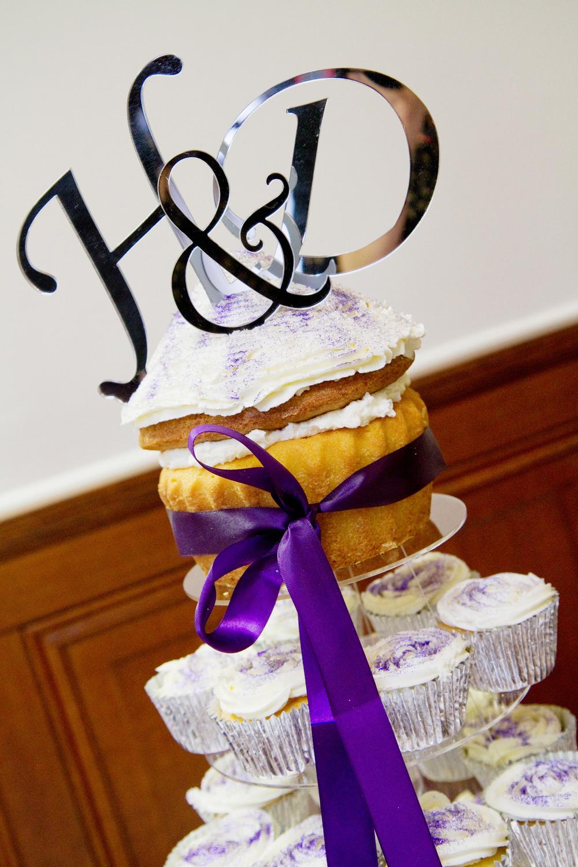Giant Cupcake Wedding Cake, Helen England Photography, Kent, U.K