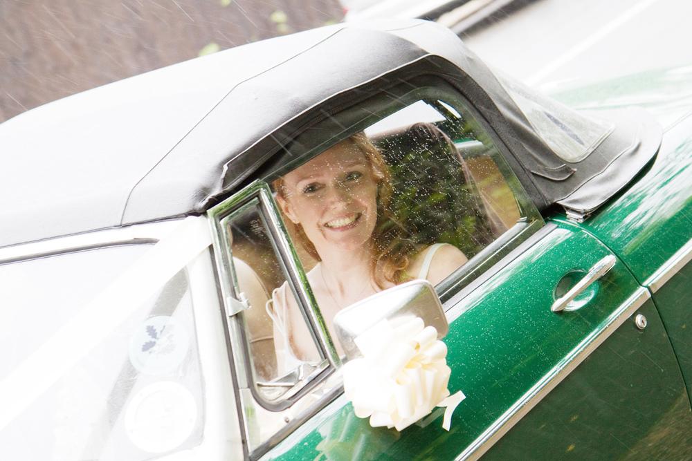Convertible Wedding Car, Helen England Photography, Kent, U.K